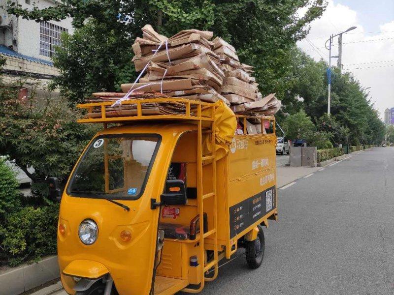 互联网让垃圾回收成中国环保新风尚